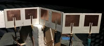 Setup for conformal antennas measurements